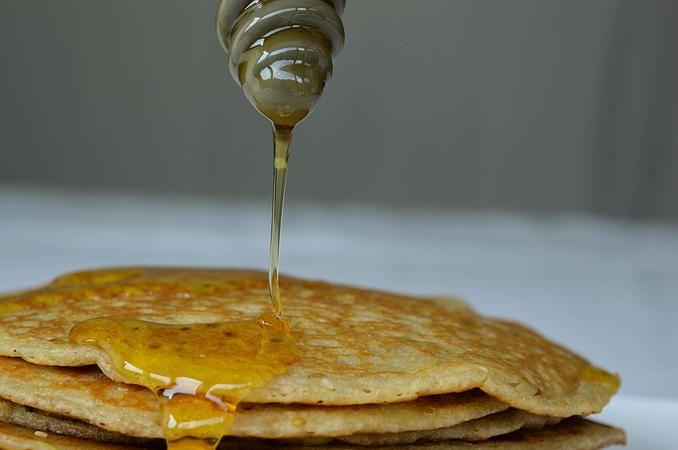 Ancient Greek pancakes (Tagenites /Attanitai) #greekfood #greekcooking #ancientcooking #Greece