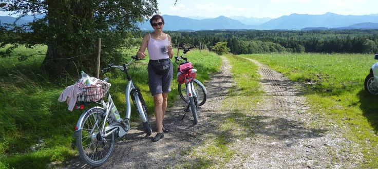 Radtour / Radweg um den Starnberger See