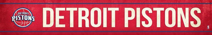 Detroit Pistons Street Banner $19.99