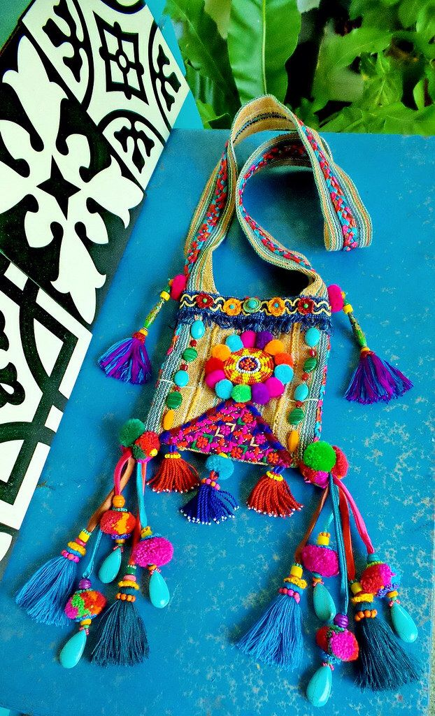 Mix Tribe Bright Boho Bag