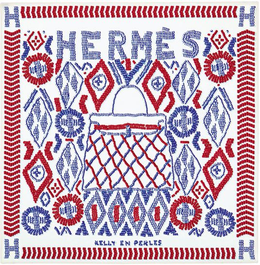 Customize a classic with Hermès' new scarf embroidery service