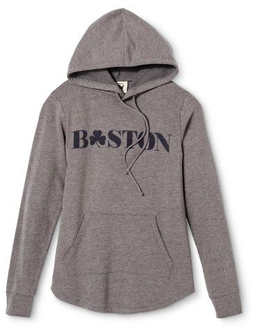 Boston Local Pride by Todd Snyder Women's Hoodie - Heather Gray