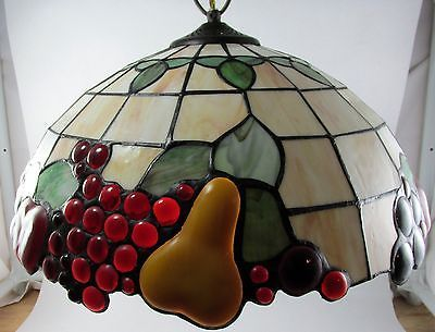 Tiffany Style Stained Glass Hanging Kitchen Light Lamp
