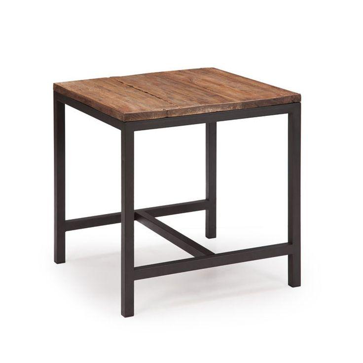 295 best diy furniture meubles images on pinterest for Diy metal end table