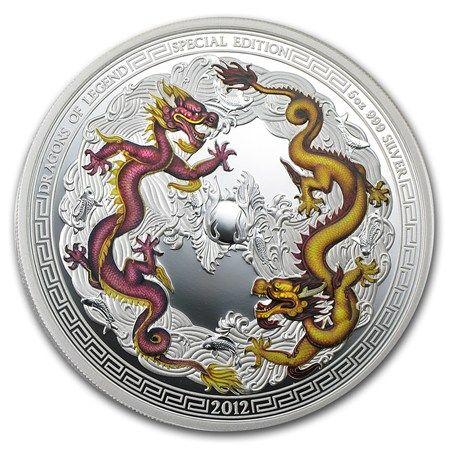 Legendární draci 2012 - kolorovaná