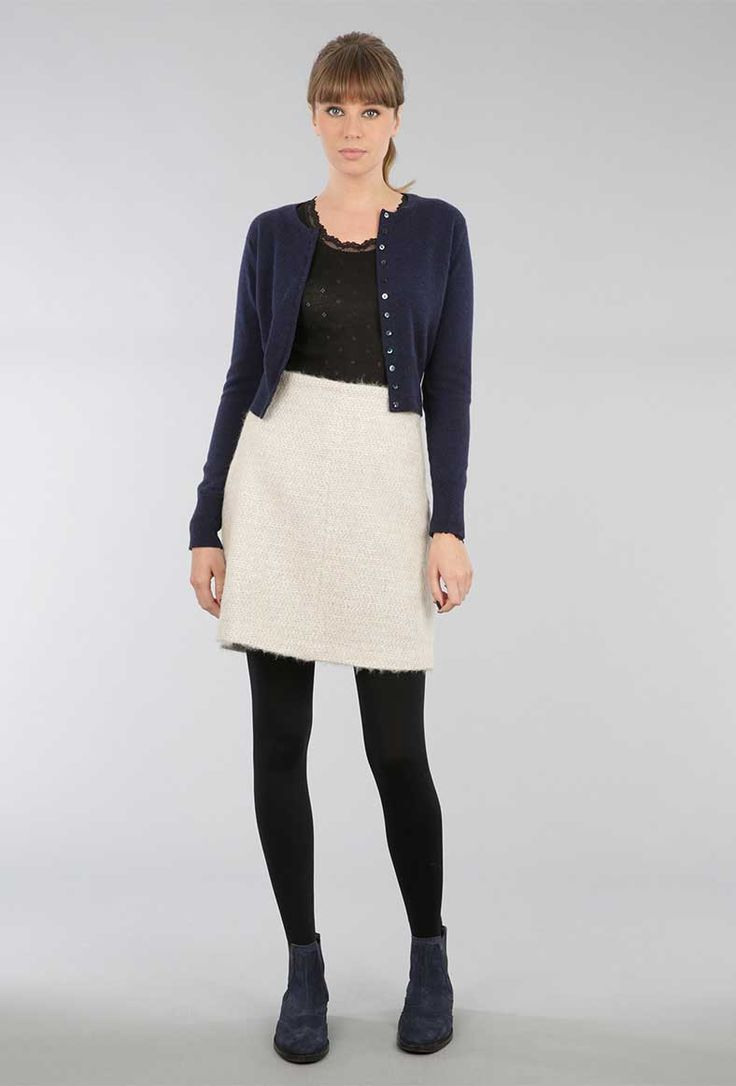 ladies wearing twin set cardigans | Ladies Cashmere Twinset ...