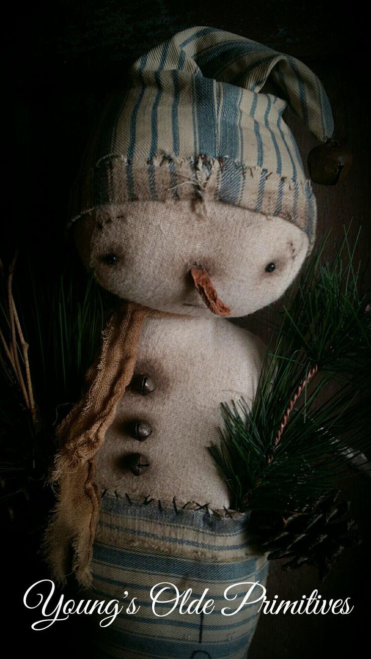 Primitive Snowmen ⛄️