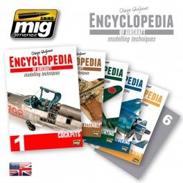 Subscription for Encyclopedia of Aircraft Modelling Techniques - 5 volumes - AMMO of Mig Jimenez