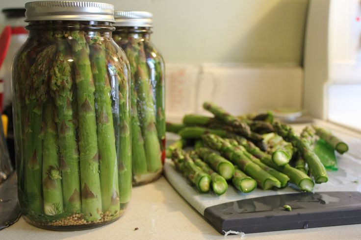 "Taste Tested Recipe : ""Fischerpickles""   ""Hit up a farmers' market, and follow the instructions below for garlically delicious pickled asparagus you can enjoy all year long."" — Anna Fischer, #FeastON Communications Coordinator  #LocalDishTO"