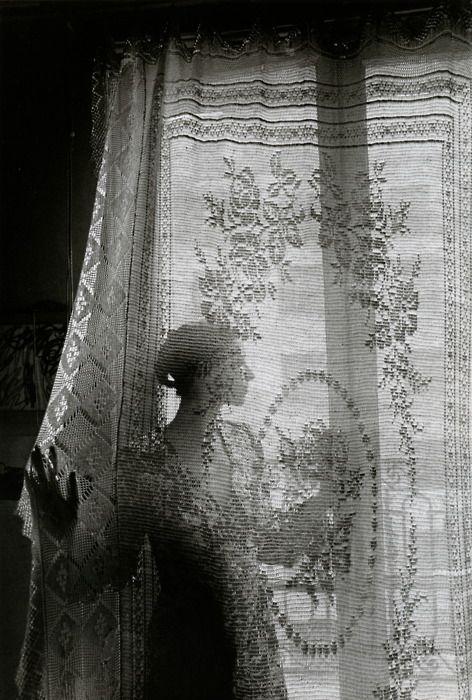 """At the window, Paris"" 1970, photo by French photographer EDOUARD BOUBAT (1923/1999)"