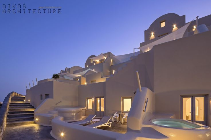 private suites, pyrgos, santorini, skyfall suites, night, architecture lighting, stunning outdoor, tents