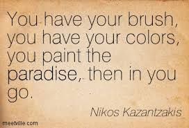 nikos kazantzakis quote