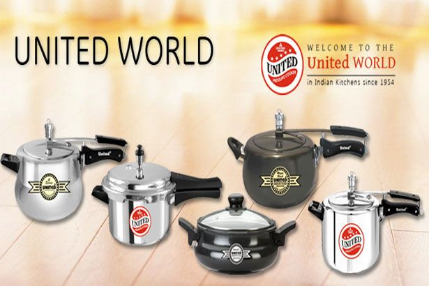 #United_Pressure_cookers are very useful equipment that let our food to cook with pressure of air and fluid from the cooker. Either boiling or steaming can be done in prssure cookers, this makes the equipment a necessity for all families as well as eating places and catering companies.