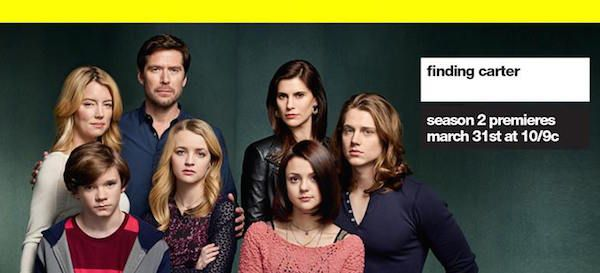 MTV's Finding Carter Season 2 Feels like a Roller Coaster Ride that You Don't Want to End #Review #MTV #FindingCarter #Trailer  Read more at: http://www.redcarpetreporttv.com/2015/03/30/mtvs-finding-carter-season-2-feels-like-a-roller-coaster-ride-that-you-dont-want-to-end-review-mtv-findingcarter-trailer/