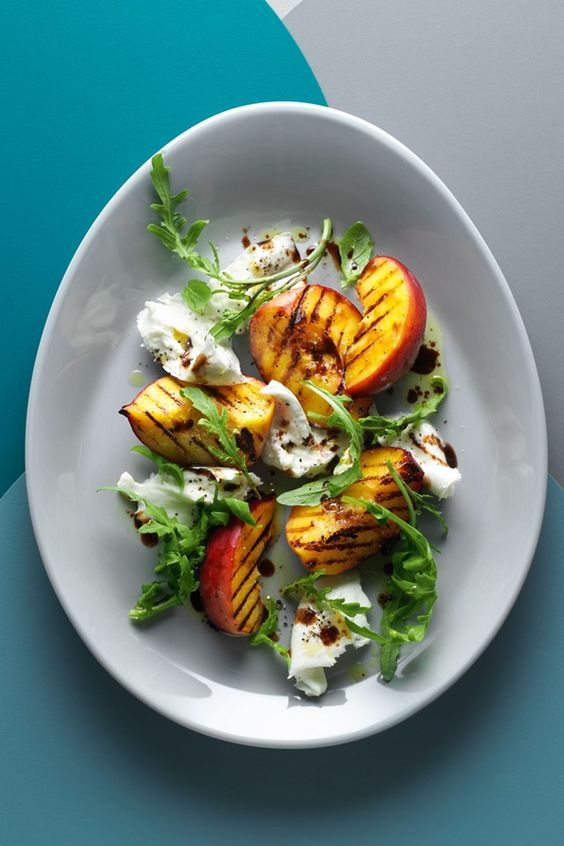 Grilled Peach Burrata