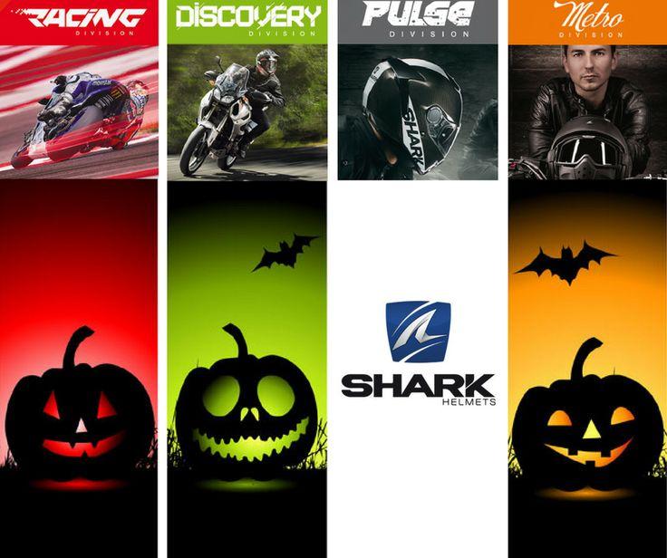SHARK | Qual é o seu estilo de capacete? #lusomotos #halloween #shark #racing #discovery #pulse #metro