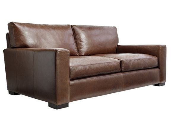 Colour Club Mountain 2 Seat Sofa | Bay Leather Republic