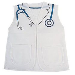 Doctor Vests, Doctor Party Supplies, Doctor Costumes