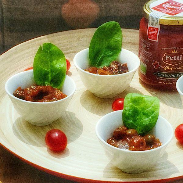 Il pomodoro Petti - Social Foodie - Finger di Caponata