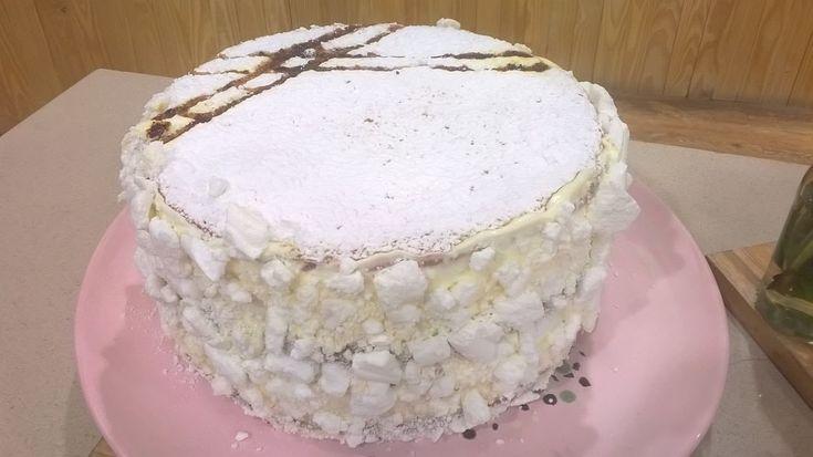 Torta bomba de Balcarce por Eugenia Guffanti