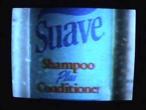 1991 06 SUAVE SHAMPOO CONDITIONER COMMERCIAL - YouTube