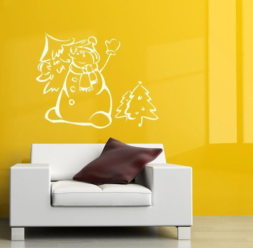 53 best Christmas Wall Decals images on Pinterest | Wall vinyl ...