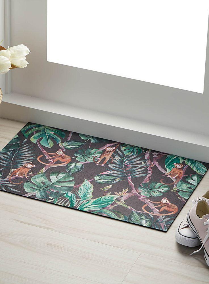 Playful monkey rug 45 x 70 cm | Simons Maison | Patterned carpets online | Simons