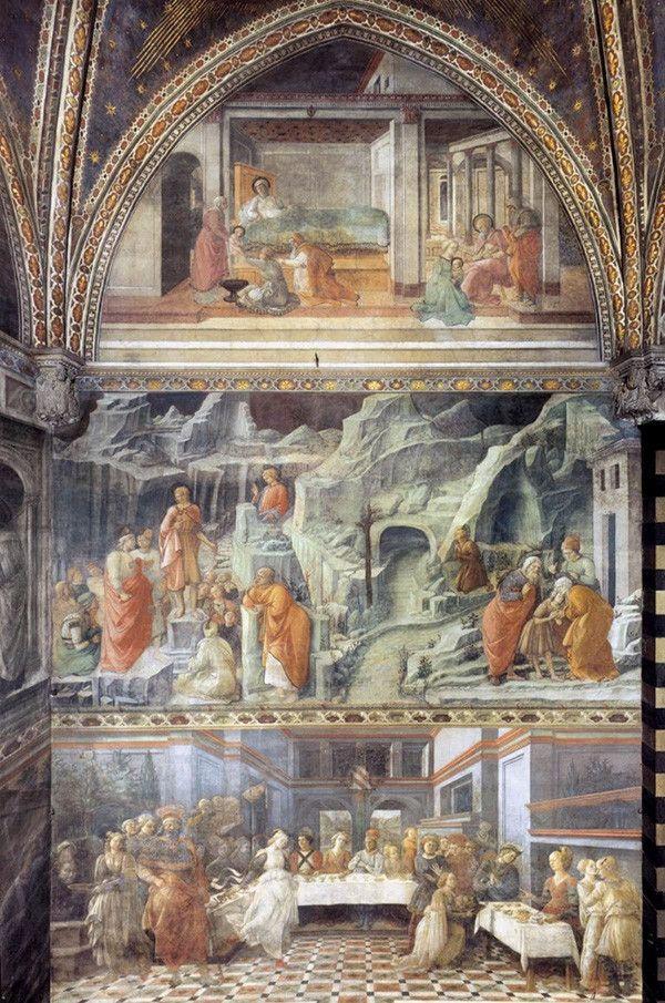 Кафедральный собор Прато. Фрески Филиппо Липпи - История красоты