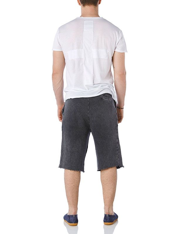 Royal sewn cross Tee- Venice shorts #mensCollection #BasicCollection www.wecreateharmony.com