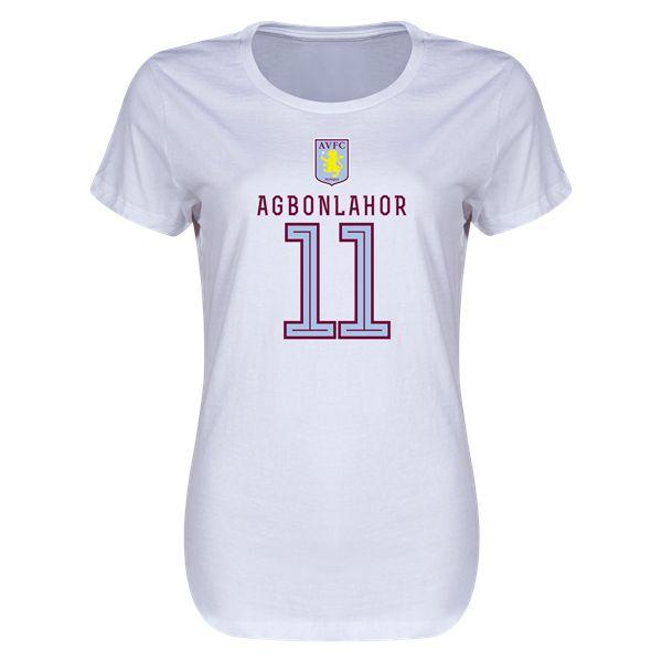 Aston Villa Agbonlahor Womens T-Shirt