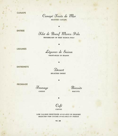 how to choose meal a diner menu