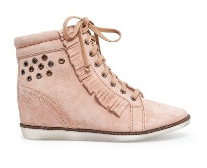 Sneakers met franje