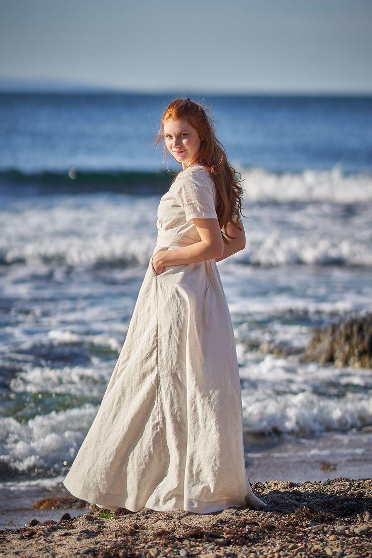 Linen Wedding Dress Beach Wedding Dress Victorian Dress Etsy Linen Wedding Dress Victorian Wedding Dress Etsy Wedding Dress [ 1104 x 736 Pixel ]
