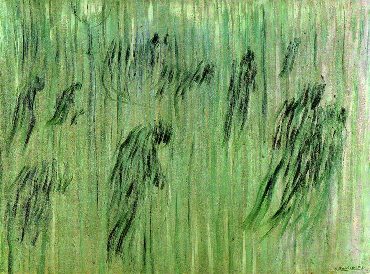 1911 - Umberto Boccioni - Quelli che restano - Opere di Umberto Boccioni - Wikipedia