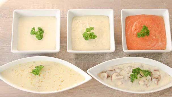 Sauzen, hier het enige echte recept voor de witte saus, de bechamelsaus. Ook een aantal variaties op de bechamelsaus zoals kerrie, tomaten en champignonsaus