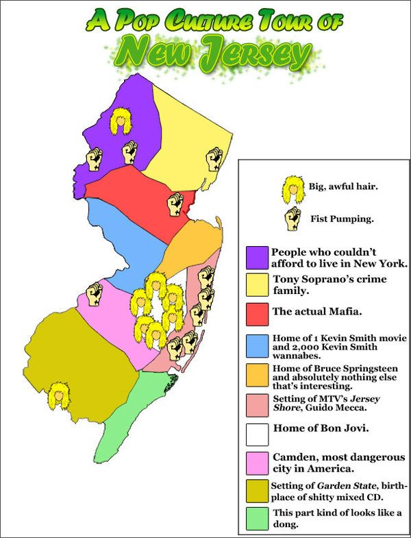 New jersey funny facts new jersey new york city 39 s trash for New york culture facts