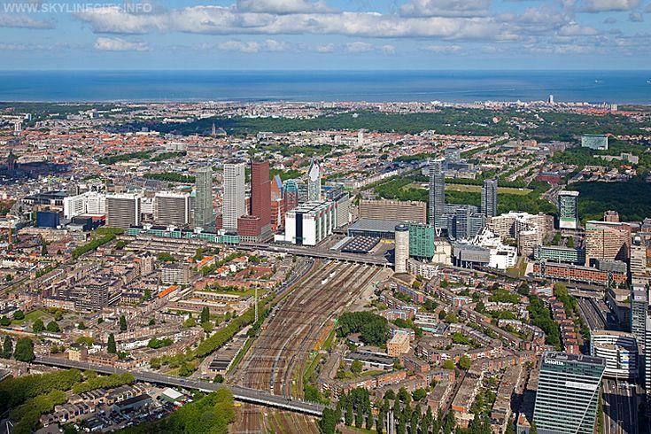 Luchtfoto's Den Haag