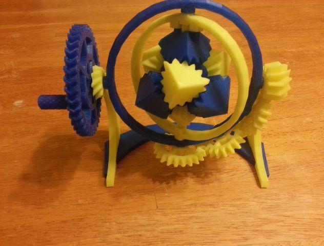 3D printed gyroscoop