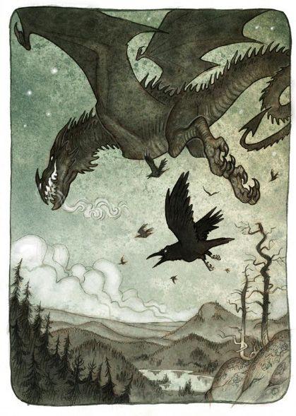 lisa-lo:  Illustrations by Johan Egerkrans...