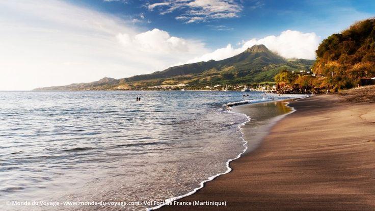 Billet d'avion pas cher pour Fort de France en Martinique, réserver un vol aller…