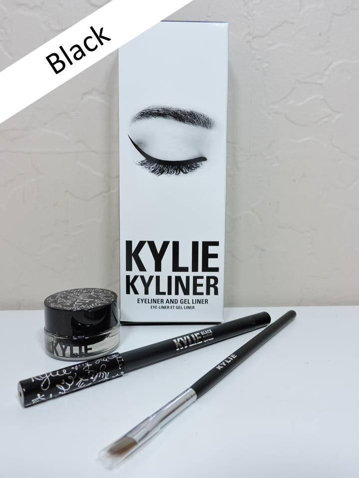 KYLIE Kyliner Black Eyeliner and Gel Liner Kit from Kylie Jenner Cosmetics BNIB