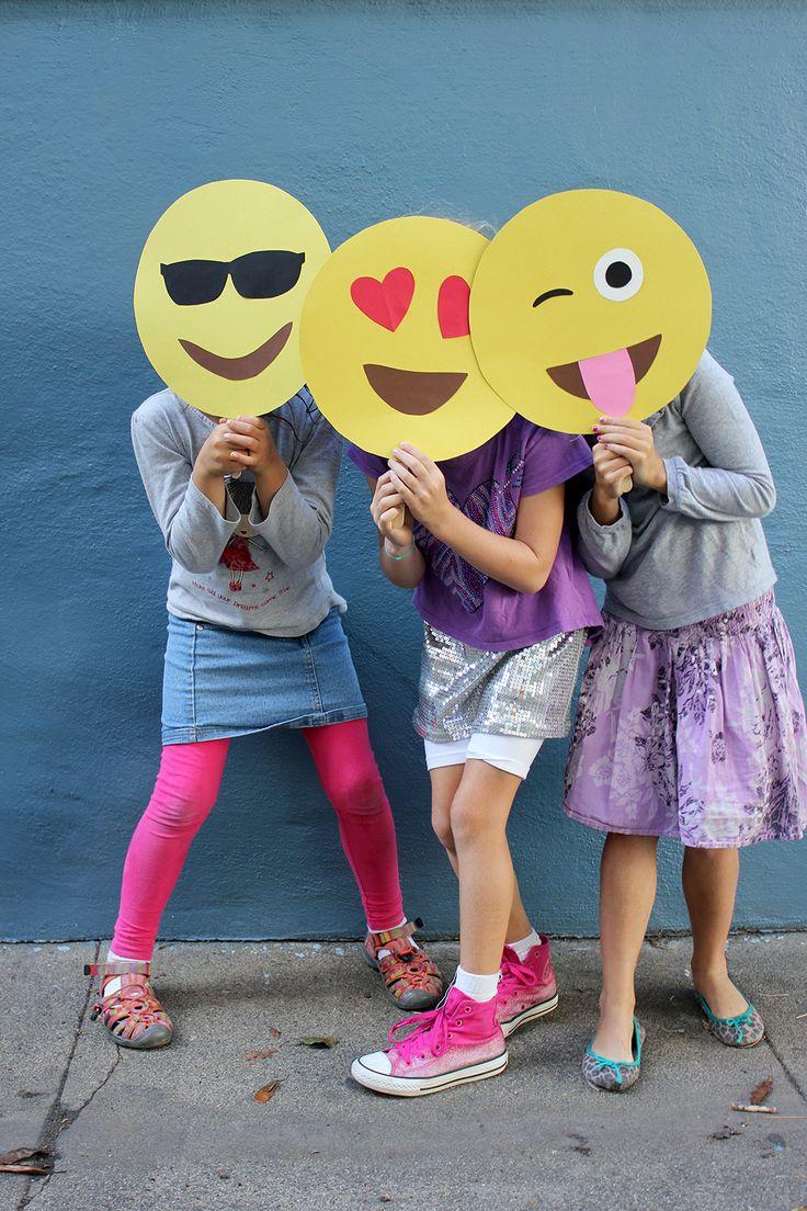 máscaras de emoji :D #façavocêmesmo