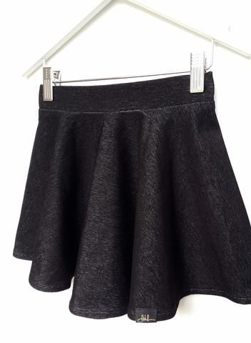 Warmer weight skater skirt available from size 3-12 at spunkybubs.com.au