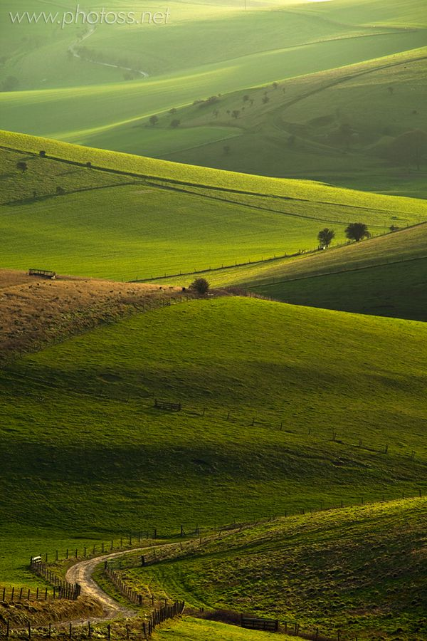 South Downs National Park, East Sussex, England