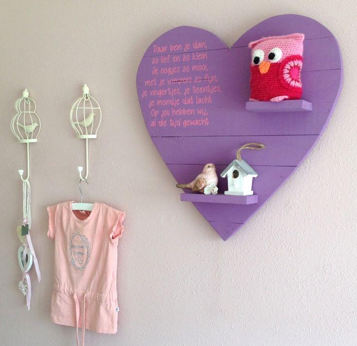 Wandbord kinderkamer