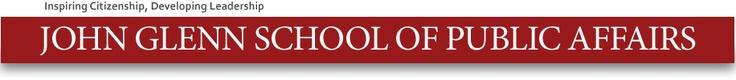 John Glenn School of Public Affairs  http://glennschool.osu.edu/training/maps.html
