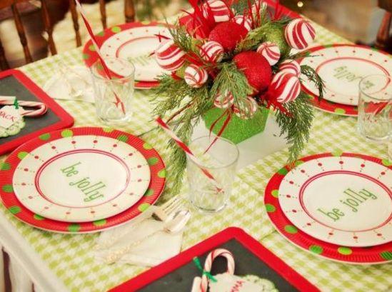 海外のおしゃれなクリスマステーブルコーディネート画像   Interior Design Box 海外の使えるインテリア術
