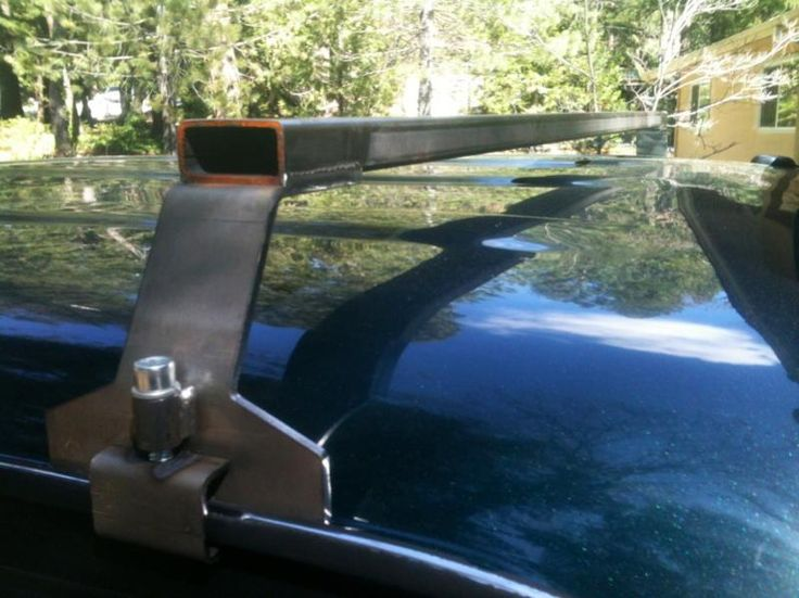 Trailer roof rack ideas -- Started a roof rack build