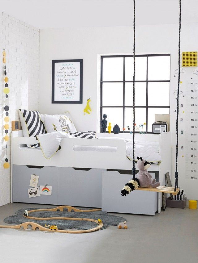 Best 25 lit mezzanine enfant ideas on pinterest lit - Idee deco chambre petit garcon ...