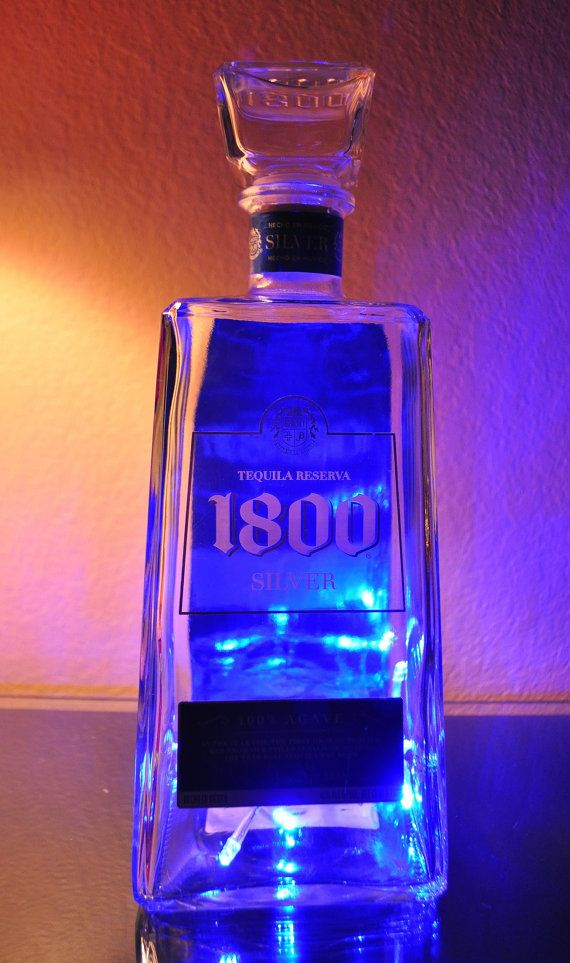 Check out this item in my Etsy shop https://www.etsy.com/listing/259269343/1800-silver-tequila-night-lightlamp